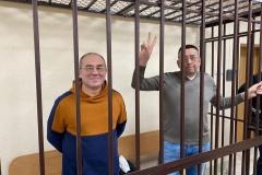 В Могилеве прокурор запросила сроки для брестских блогеров Петрухина и Кабанова