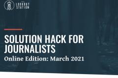 Бесплатный мастер-класс Solution Hack for Journalists (English, заявки до 22 февраля)