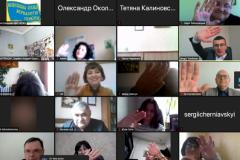 Союз журналистов Украины объединил сотни коллег в солидарности с белорусскими журналистами