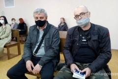 В Пинске судят журналистов Ярошука и Якимуша,у которых ранее прошли обыски