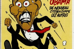 Charlie Hebdo опубликовал карикатуру о выборах в США