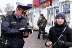 Вольгу Чайчыц і Андруся Козела аштрафавалі на Br 857,5 за матэрыял пра суд над імі ж