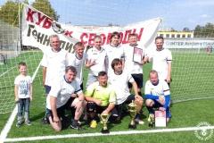Команда Белорусской ассоциации журналистов — победители Кубка свободы имени Геннадия Карпенко