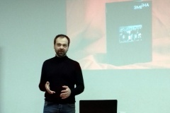 «Отец спал на раскладушке в лаборатории Дома прессы», — в БАЖе прошла встреча с Дмитрием Брушко