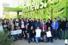 На Евроньюс начались забастовки украинской и еще нескольких языковых редакций