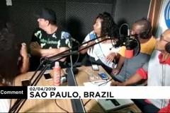 В Сан-Паулу офис радио ограбили во время прямого эфира ВИДЕО
