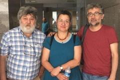 Турцыя: Журналіста Ахмета Несіна пакінулі за кратамі
