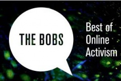 Яшчэ можна прагаласаваць за беларускага «Антыжурналіста» на конкурсе The BOBs