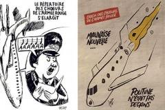 Charlie Hebdo опубликовал карикатуры на крушение Ту-154