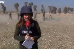 Курдская журналистка погибла при освещении освобождения Мосула