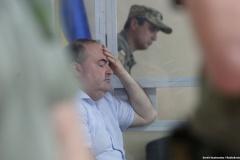 Суд арыштаваў на два месяцы падазраванага ў арганізацыі замаху на Бабчанку. Той кажа, што працаваў на контравыведку