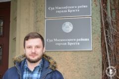 У дачыненні брэсцкага журналіста Яўгена Скрабца заведзена новая справа за працу без акрэдытацыі
