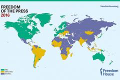 Freedom House: Беларусь – в десятке худших стран по свободе слова