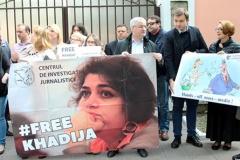 Азербайджанскую журналістку Хадзіджу Ісмаілаву вызвалілі!