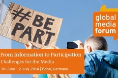 Сусветны медыяфорум Deutsche Welle (да 17 красавіка)