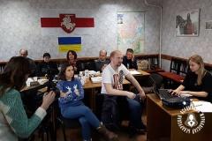 """Гомельская філія ГА """"БАЖ""""  зладзіла майстар-клас для сваіх сябраў"""