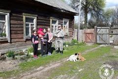 Гомельскія БАЖаўцы сустрэліся з чарнобыльскімі самасёламі