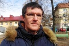 """Журналіст Дзяніс Івашын супраць """"рускага свету"""" ў Гродне"""