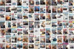 Картинка дня. 91 обложки газет и журналов со всего мира, посвященных пожару в Нотр-Даме