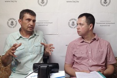 Анлайн-канферэнцыя са Змітром Лукашуком