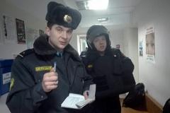 Пакуль Павел Дабравольскі здымаў пабоі, на калег журналіста выклікалі міліцыю