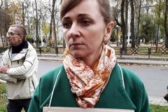 Гомельскую журналістку Шчыракову прыцягваюць да адказнасці за стрым у Facebook