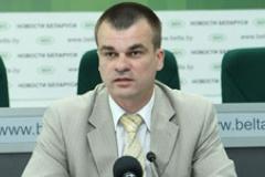 Міністр юстыцыі Беларусі Алег Сліжэўскі