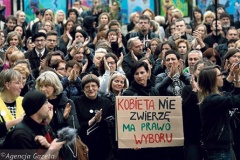Кіраўніца «Белсата» пра ўсяпольскі жаночы страйк: Ідыятызм!
