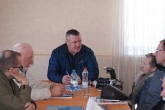 Крычаўскія бажаўцы сустрэліся з праваабаронцам Леанідам Судаленка