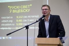 Віцебскі журналіст – пра  папулярнасць рускамоўных і беларускамоўных СМІ ў рэгіёне