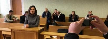 «Место правонарушения — belsat.eu». Журналистку Ольгу Чайчыц снова оштрафовали