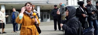 Шэсць пратаколаў склала гомельская міліцыя ў дачыненні да журналісткі-фрылансера Ларысы Шчыраковай