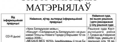 Государственная пресса печатает обновлённый список экстремистских материалов