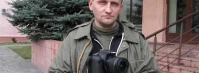 Кастусь Жукоўскі атрымаў са жлобінскай міліцыі адразу два пратаколы за «незаконны выраб прадукцыі СМІ»