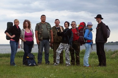 «Репортаж с рюкзаком» поставил палатки в «медвежьем углу» трех государственных границ
