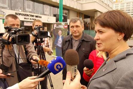 Таццяна Караткевіч: Непрызнанне прафесійных памылак пляміць недзяржаўную журналістыку