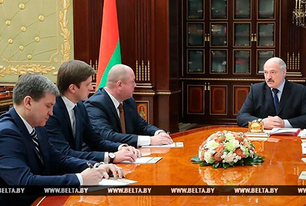 Lukashenko appoints new heads of Belarus' central mass media